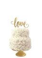 bruidstaart met love topper